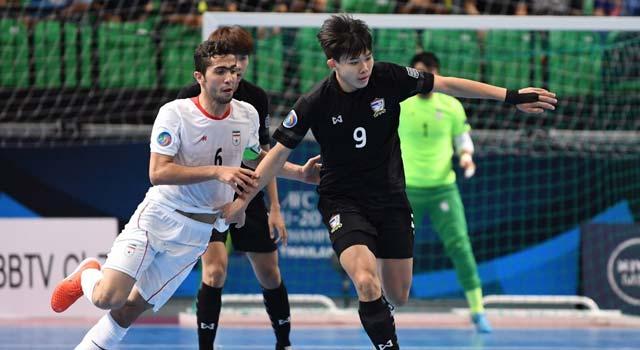 ทีมชาติไทย 5-7 ทีมชาติอิหร่าน