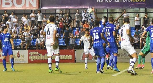 อุบล ยูเอ็มที เอฟซี 0-0 ชลบุรี เอฟซี