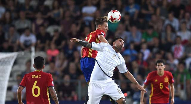 สเปน 3-1 อิตาลี