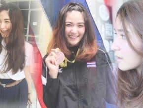 สวยและโสด 'ต้นน้ำ-กัญญาภัทร' ดาวรุ่งฟันดาบไทยในกีฬาซีเกมส์ ครั้งที่ 29 (มีคลิป)