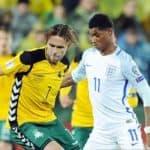 ไฮไลท์ฟุตบอล  ลิธัวเนีย 0-1 อังกฤษ