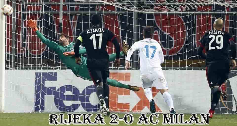 ริเยก้า 2-0 เอซี มิลาน