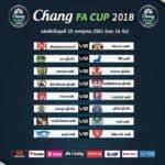 ผลการจับสลากฟุตบอล ช้างเอฟเอ คัพ 2018 รอบ 16 ทีม